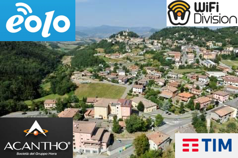 Eolo Acantho WiFi Division Tim a Montese