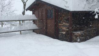Montese Casa Bastiano nevicata 5 febbraio 2015