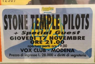 Concerto Stone Temple Pilots Vox