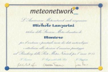 Diploma Meteonetwork 2015