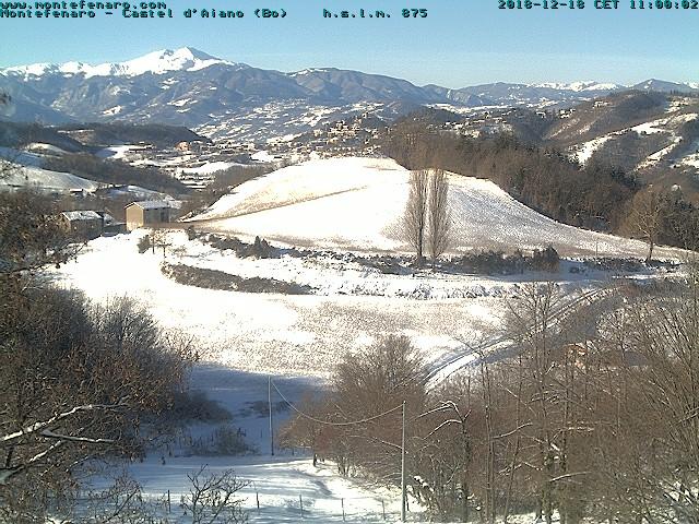 Webcam Montefenaro 18 dicembre 2018