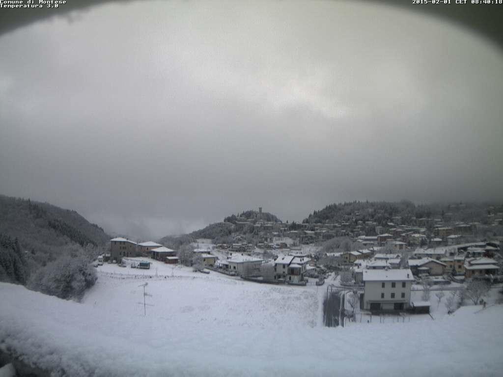Webcam Comune di Montese 1 febbraio 2015