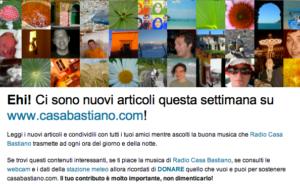 Newsletter Casa Bastiano