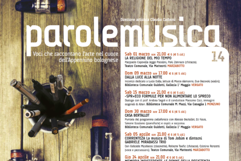 parolen e musica 2014