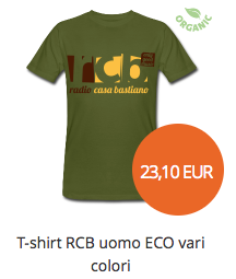 t-shirt RCB uomo ECO vari colori