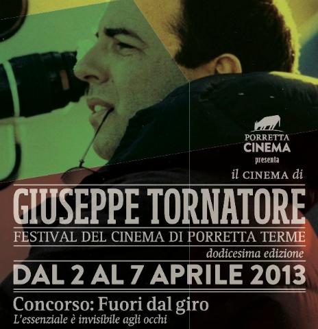 Porretta Film Festvial 2013 Giuseppe Tornatore