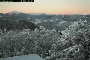 Neve Montese Casa Bastiano 25 gennaio 2014
