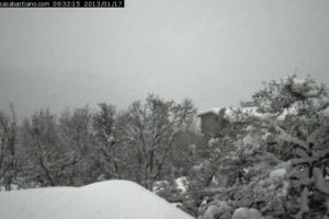 Webcam Montese Casa Bastiano neve